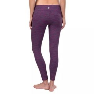 Tuff Athletics Purple Yoga Athletic Leggings Small